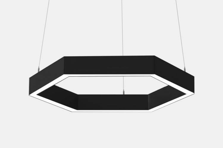 Серия Geks. Многоугольные светильники разных размеров
